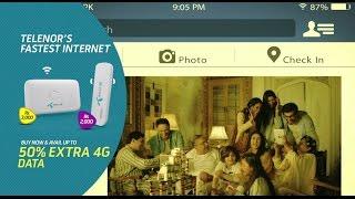 Telenor 4G Hotspot