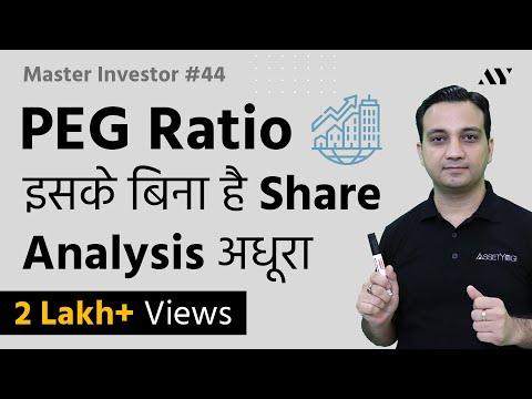 PEG Ratio - Explained in Hindi (2018)