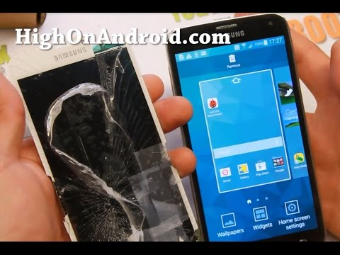 How To Replace Galaxy S5 Screen!