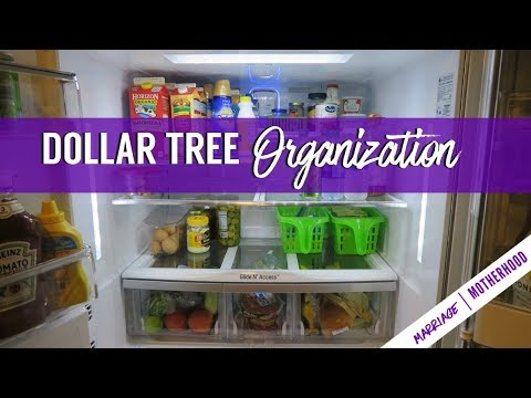 Fridge Organization | Dollar Tree | Fridge Cleaning | Marriage & Motherhood
