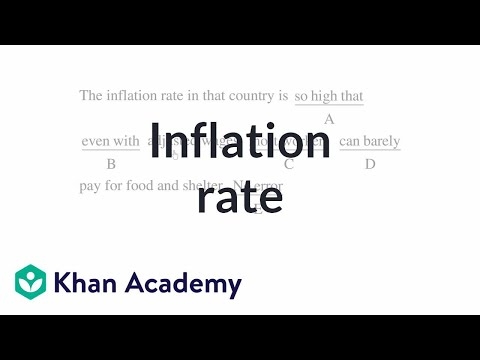 13 Inflation rate