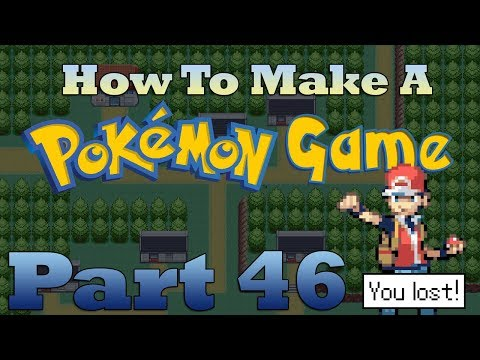 How To Make a Pokemon Game in RPG Maker - Part 46: Scripted Losses
