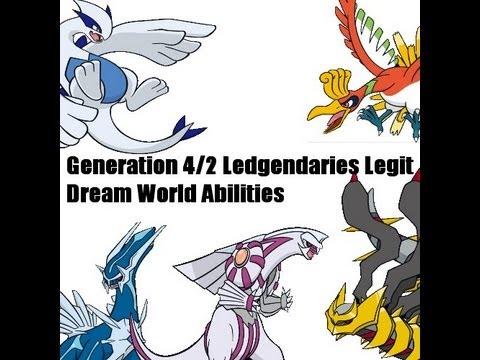 How to get Legit Lugia, Ho-Oh, Palkia, Dialga and Giratina in Pokemon Black 2 / Pokemon White 2!