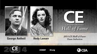 2014 Hall of Fame Antheil and Lamarr