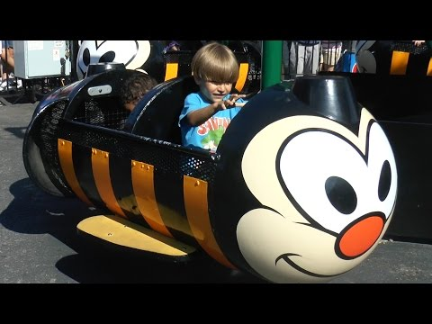 Outside Family Fun at Hershey Park Part3