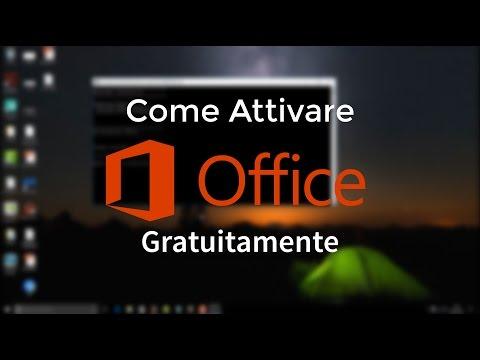 Come attivare la suite Microsoft Office 2016/2017 gratuitamente