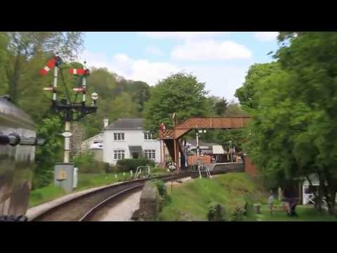 Arriving Into Buckfastleigh Station (HD)