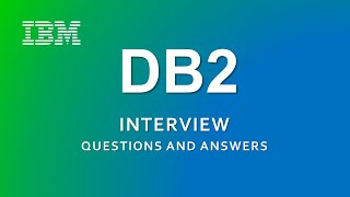 DB2 Interview Questions and Answers   IBM   RDBMS  