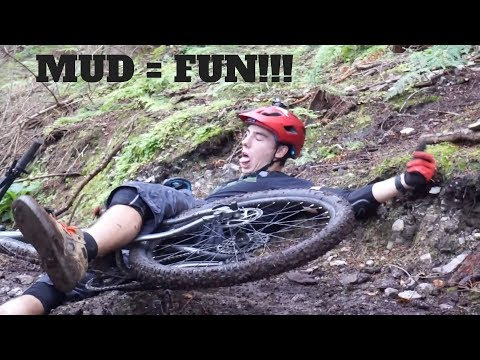 MTB + Mud = EPIC | Crashing is part of it!