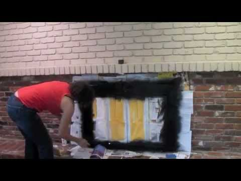 How to Paint an Old Brick Fireplace: DIY Tutorial - Thrift Diving