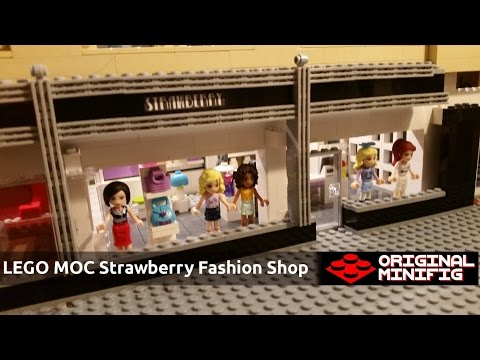 LEGO Empire State Building - Strawberry - Women's Clothing Shop