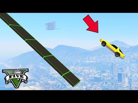 GTA V Online: PARKOUR FININHO no CÉU COM R2000!!!