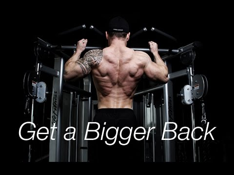 TIPS TO GET A RIPPED AND WIDER BACK