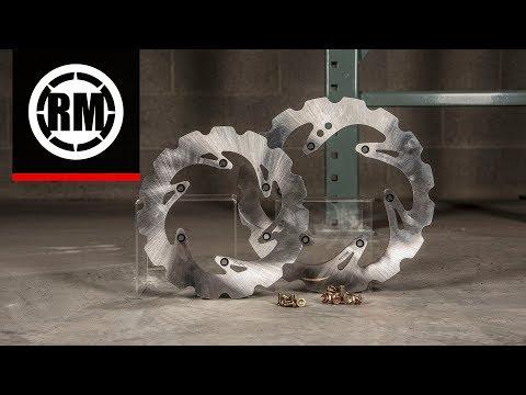Tusk Solid Typhoon Mud Brake Rotor for Dirt Bikes
