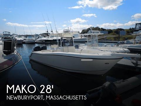 [SOLD] Used 2000 Mako 29 Center Console Tuna Boat in Hampton Falls, New Hampshire