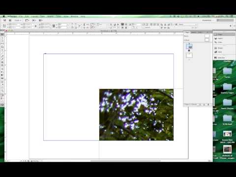 Indesign - Postcard Project Tutorial