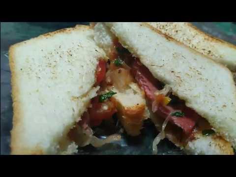 Chicken Luncheon sandwich | Meat Sandwich | चिकन सैंडविच | Sonia Dsouza | Chicken sandwich |Sandwich