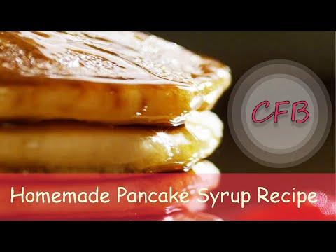 Simple Pancake Syrup Recipe