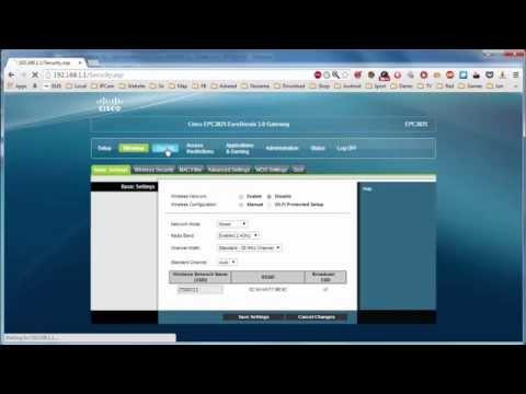 ทำ Bridge Mode กับ Cable Modem Cisco EPC3825 กับ Router Asus RT-N16