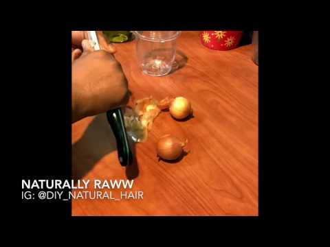 ONION, Honey , olive oil , herbal mixture Deep Conditioning Treatment