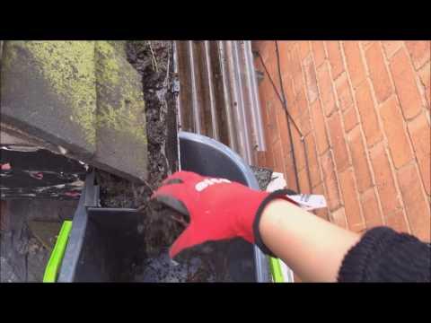 DIY Gutter Cleaning - Cheap!