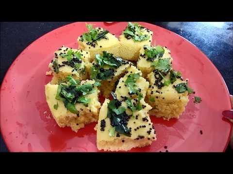 Besan Dhokla with ENO Recipe in Hindi
