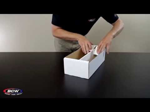 BCW Shoe Storage Box