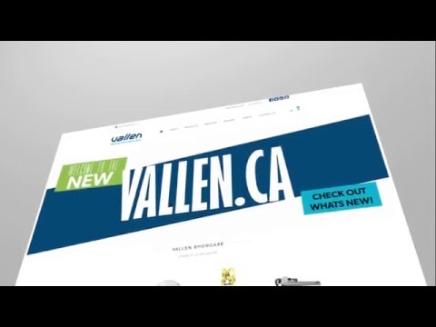 The New Vallen.ca Website