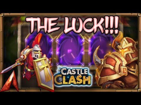 Castle Clash Rolling 46k Gems + Events! THE LUCK! Claiming Mino!