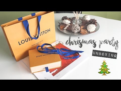 Louis Vuitton // Christmas Party Unboxing