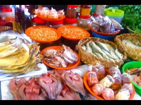 Asian Market - Cambodian Wet Marketplace In Takhmao - Youtube