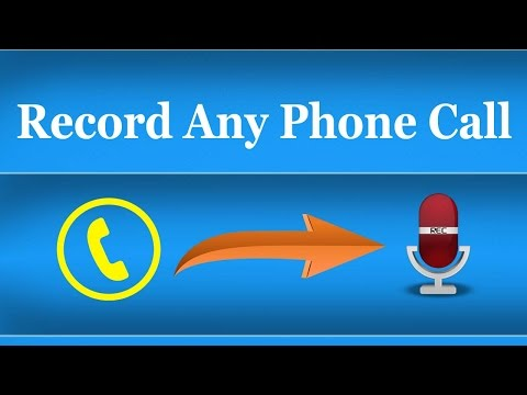 How To Record Phone Calls on Any Android Mobile - Automatic Call Recorder