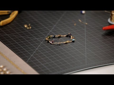 Wire-Wrapped Bracelet with Lobster Clasp | Making Jewelry