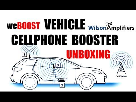 weBOOST 4G-X CELLPHONE BOOSTER UNBOXING