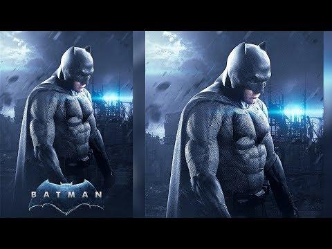 Batman Poster Manipulation - Photoshop