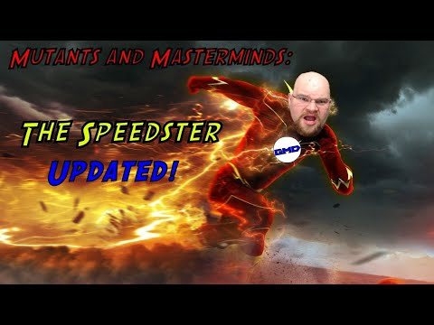 Mutants and Masterminds Character Creation: The Speedster, Updated