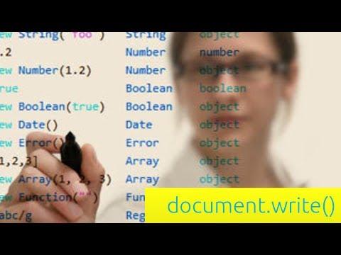 document.write Function - JavaScript Tutorial for Beginners