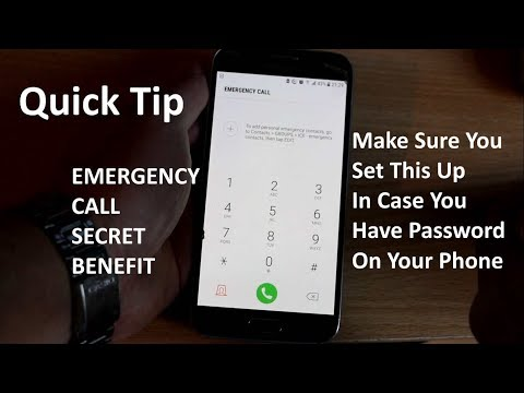 How to make a call from locked phone (SAMSUNG)