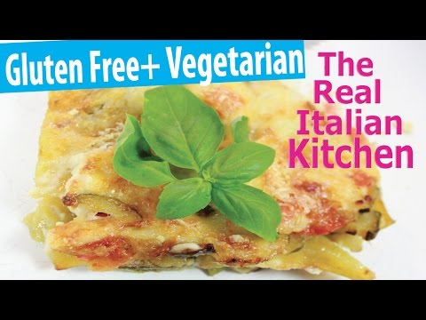 Vegetable Lasagna Recipe - Real Italian Kitchen - Episode 116