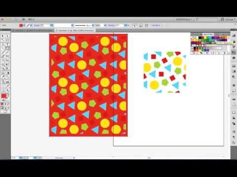 Illustrator CS5 tutorial -  Learn Pattern Swatches in under 3 minutes