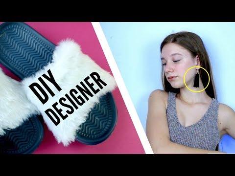 Make DIY DESIGNER FASHION Look Expensive!! the CHEAP Way!!