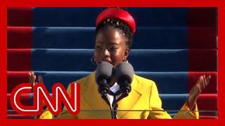 Amanda Gorman recites stunning poem at Biden inauguration