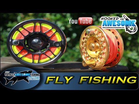 Fly fishing for beginners | Attaching fly line to reel - TAFishing Show