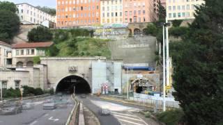 Tunnel de la Croix Rousse, le chantier : 9 mois en 90 secondes