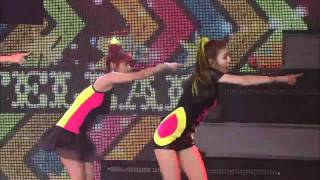 110916 Stellar-Rocket Girl @MTV The Show