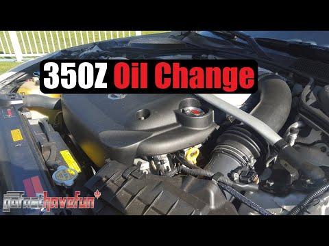 Nissan 350Z / Infiniti G35 Synthetic Oil Change