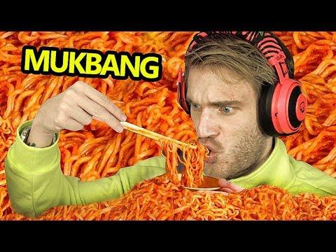 Mukbang - (55 000 000 epic SpicY Calories)