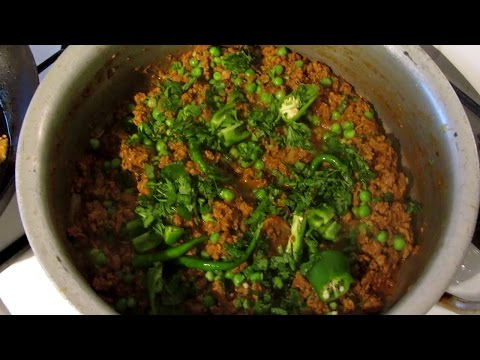 How To Make The Perfect Keema/Kheema With Peas (Indian Minced Meat with Green Peas Recipe)