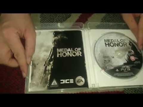 Nostalgamer Unboxes Medal Of Honor Tier 1 Edition On Playstation 3 UK PAL System Version