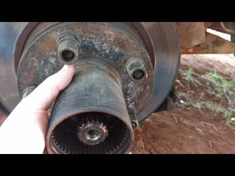 1991-1996 f150 4x4 Disk and caliper removal (manual locking hubs)